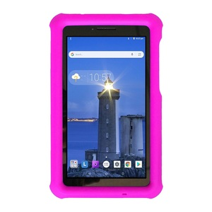 Image 3 - MingShore For Lenovo Tab E7 2018 kids Silicone Shockproof Soft Cover Case For Lenovo Tab E7 7.0 inch TB 7104F Tablet Rugged Case