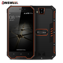 Blackview BV4000 Smartphone IP68 Waterproof Quad Core Android 7.0 3G mobile phone 4.7 inch IPS Corilla Glass cell phone 8MP GPS(China)
