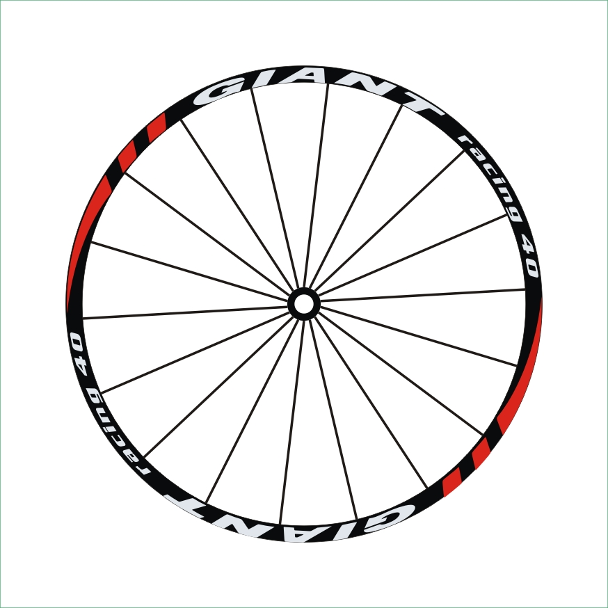 Aliexpress.com : Buy 'racing 40' 2Wheels/set Mountain Bike