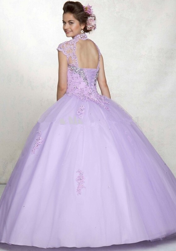 2016-Sweet-15-Year-Purple-Cheap-Quinceanera-Dresses-Ball-Gown-High-Neck-Lace-Sexy-Lace-Up