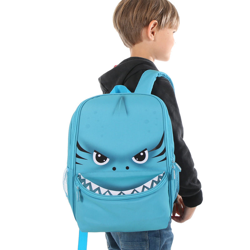 Kids Cute Dinosaur shark crocodile unicorn Big School Bags Mochila Infantil Children Kindergarten Fashion Backpacks