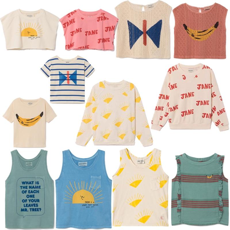 Baby T-shirts For Boys Cotton T Shirt Girls Tops Tee Bobo Choses 2018 Summer Child Kids tshirt Children T-shirts Clothes
