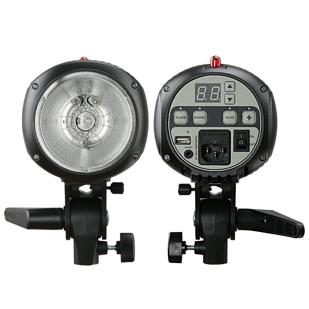 Godox E300 Mini PRO Photo Studio Strobe Flash Lighting Lamp Head 300W 220V~240V eden e300 bass head