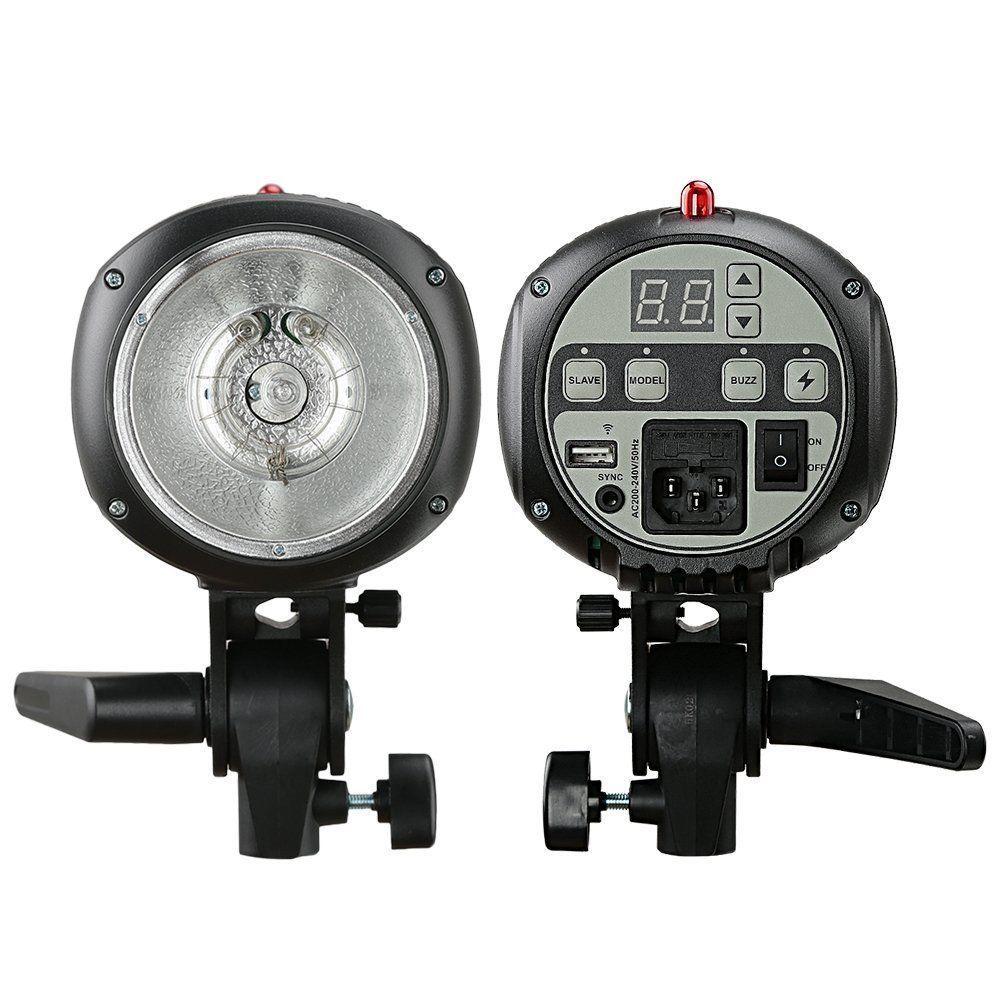 Godox E300 Mini PRO Photo Studio Strobe Flash Lighting Lamp Head 300W 220V~240V godox qs 300 300w 300ws speed studio strobe flash light lighting lamp head 110v