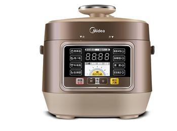цена на Midea household Auto high pressure rice machine MY-SS2501P home mini electric pressure rice cooker 2.5L Intelligent