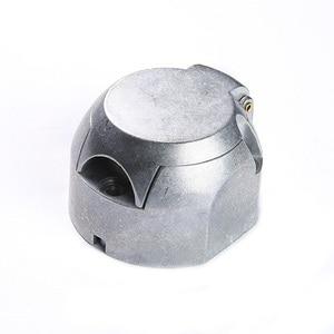 Image 5 - 12 V 13 Pin Metall Anhänger buchse stecker anhänger boot caravan lkw campe Stecker adapter RV auto lkw zubehör