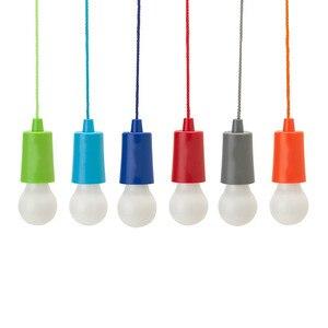 Image 2 - Bombilla de luz portátil lámpara de suspensión bombilla LED exterior camping jardín fiesta armario LED lámpara tira cable bombilla verlichting snoer tuin