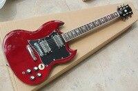 Free Shipping Factory custom shop New high qualityHigh quality red sg custom electric guitar guitarra Chrome Hardware 914