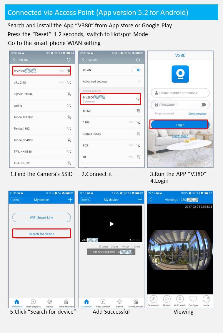 US $39 99 | Best Design Bulb Lamp V380 Wireless IP Camera Wifi 960P  Panoramic FishEye Home Security CCTV Cam 360 Degree Wifi Camera-in  Surveillance