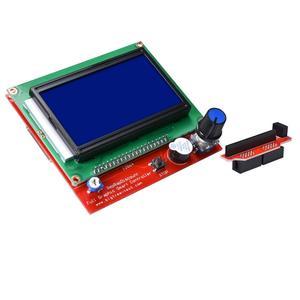 Image 2 - مجموعة أدوات التحكم بالطابعة ثلاثية الأبعاد ميجا 2560 Uno R3 أدوات تشغيل + سلالم 1.6 + 5 قطعة محرك متدرج DRV8825 + LCD 12864 Reprap