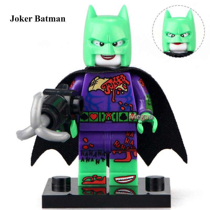 50pcs lot XH514 Joker Batman DC Super Hero 2017 Batman Movie Blocks Building Blocks Kids Gift