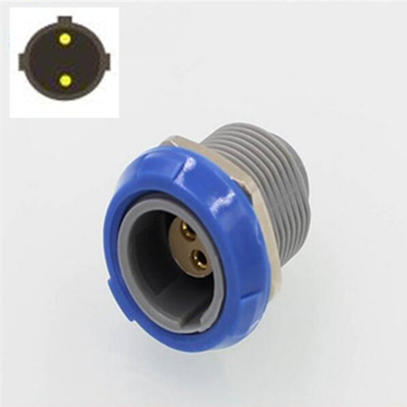 10pcs/lot Push-Pull Self-locking FOR <font><b>LEMO</b></font> <font><b>2</b></font> <font><b>PIN</b></font> CIRCULAR PLASTIC PLASTIC FEMALE SOCKET SIGNLE SLOT <font><b>CONNECTOR</b></font> image
