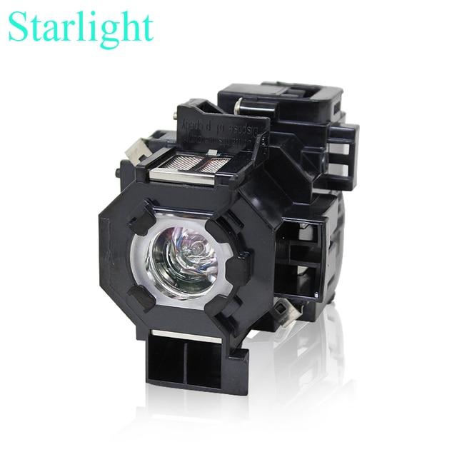 Совместимость EX21 EX30 EX50 EX70 H258A проектор колбы лампы с корпусом 170 Вт 80 В elplp41 для Epson
