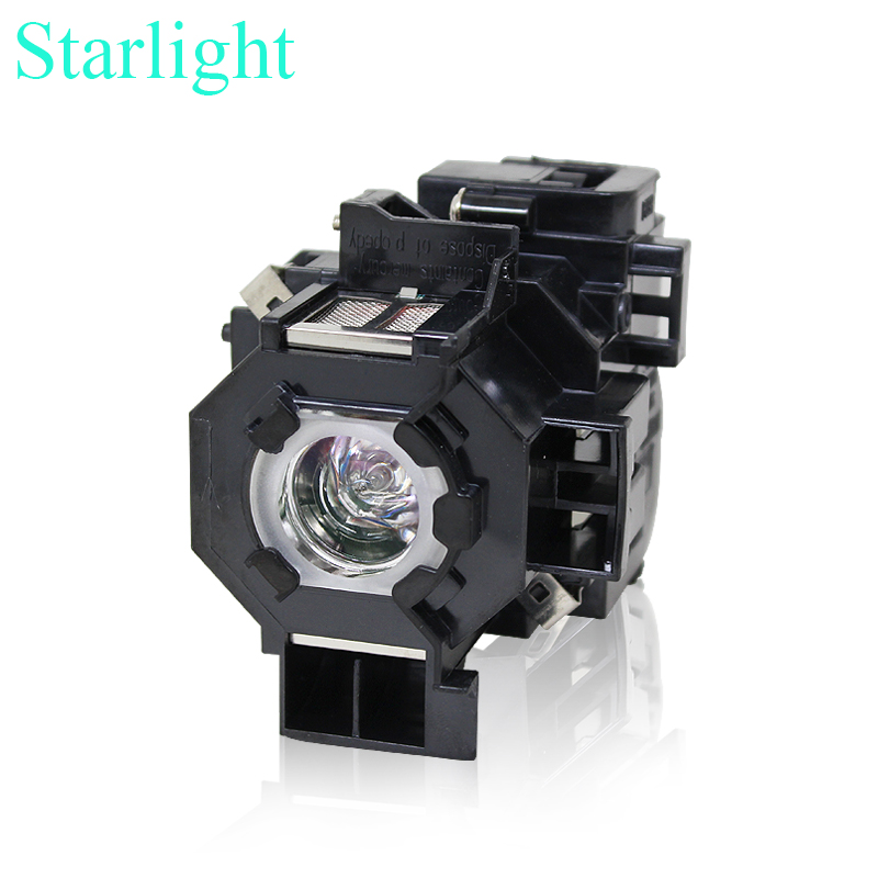 compatible EX21 EX30 EX50 EX70 H258A projector lamp bulb with housing 170w 80v elplp41 for Epson