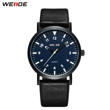 WEIDE watch dress watch leather Analog quartz men luxury sport Clock fashion casual Water Resistant Business automatic watches