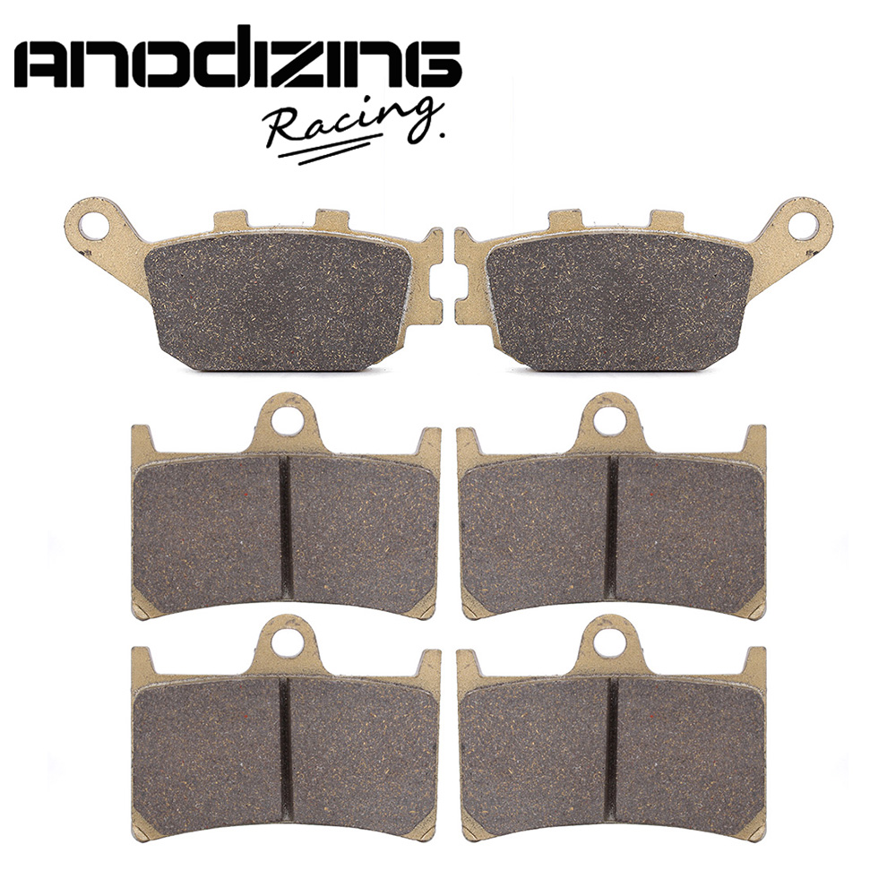 Motorcycle Front and Rear Brake Pads For YAMAHA YZF R6 2003-2015 YZF R1 1000 04-06 FZ6 2007-2009 motorcycle rear brake disc rotor fit for yamaha yzf r1 1000 yzfr1 r1 2004 2009 05 06 07 08 yzf r6 yzfr6 r6 2003 2009 04 05 new