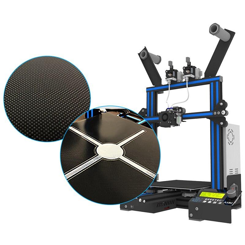D'origine Geeetech A10M Mélanger-couleur 3D Imprimante 220x220x260mm avec une option 3D wifi module facile Et Opération Commode - 5