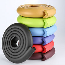 1PC 2M Baby Safety Table Desk Edge Guard Strip Home Cushion Guard Strip Safe Protection Children Bar Strip Soft Thicken Dropship(China)