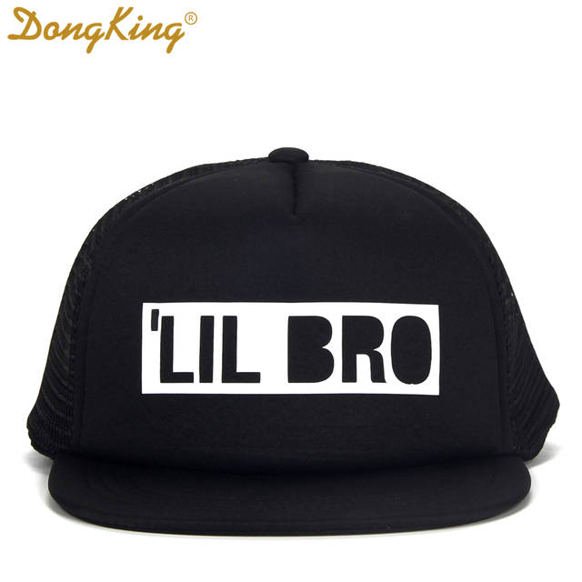 d58ccbf70e3e4 DongKing Kids Trucker Hat BIG BRO Cap BIG SIS Hats LIL BRO LIL SIS Snapback  Hat Big Brother Big Sister Baby Boy Girl Party Gift -in Baseball Caps from  ...
