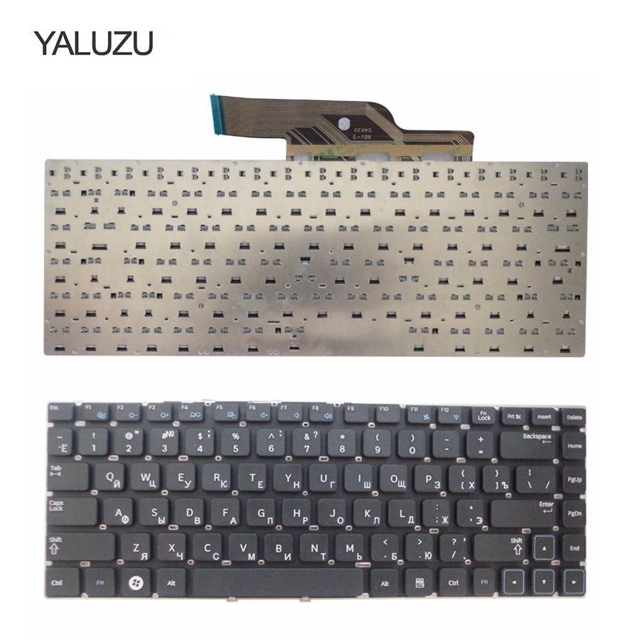 YALUZU Новая русская клавиатура для Samsung NP300 300V4A 300E4A NP300V4A NP300E4A E4A V4A 305E4A NP300E4A NP305E4A RU черная клавиатура