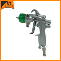 SAT1189 high quality airbrush kit pneumatic air gun two double nozzle china chrome paint for airbrush