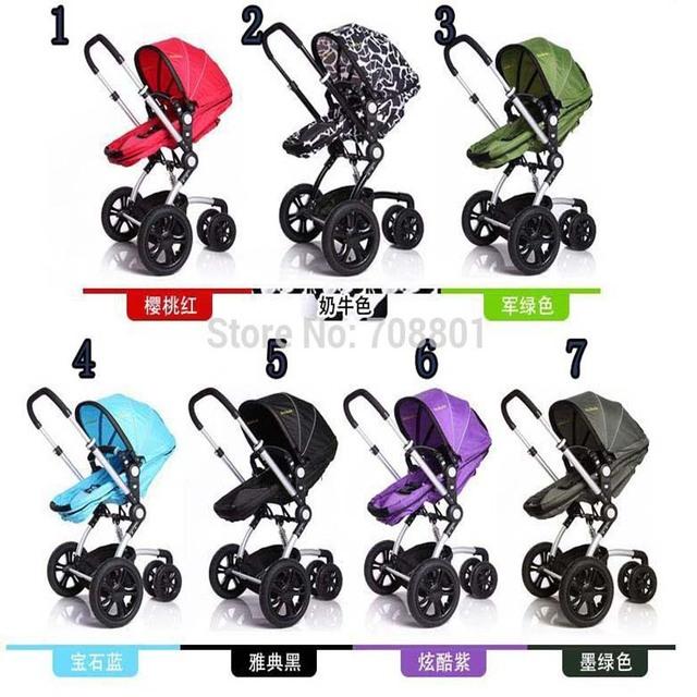 Wellbaby aleación de aluminio suspensión cochecito de bebé carro ligero paraguas canasta dormir carrito de tres ruedas