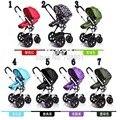 Wellbaby liga de alumínio carrinho de bebê luz suspensão carrinho cesta dormir três-rodas carrinho de guarda-chuva