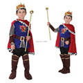 Hot Sale Disfraces Halloween Cosplay Costume for Children The King Costumes Children's Day Boys Prince Fantasia Infantil kids