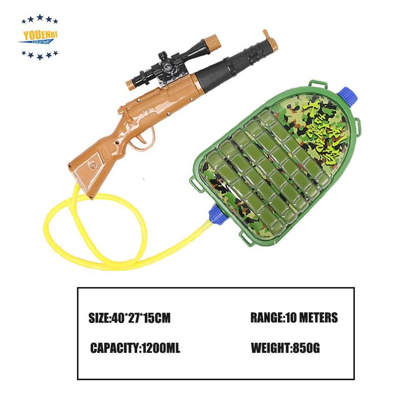 Eating Chicken Game 98K Blaster Water Gun CS Outdoor Backpack Super Soaker Water Gun Toy For Children