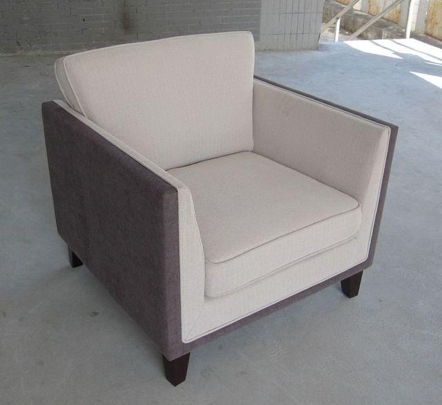 Back Circle Sofa Chair Armless Modern Dining Lounge Single Sf1001