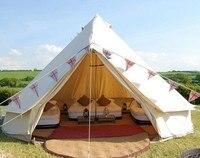 TRASPORTO LIBERO 6 m di diametro di campeggio esterna impermeabile tenda di tela