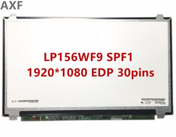 Free Shipping LP156WF9 SPF1 15.6 inch 30pins EDP 1920*1080 IPS lcd screen with FRU: 00UR887