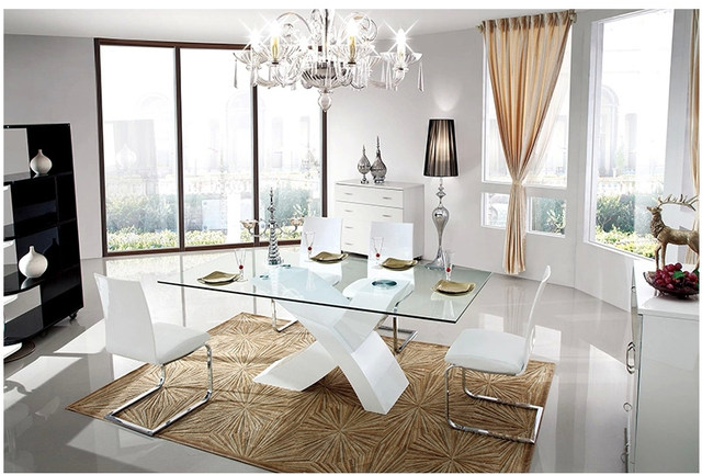 Mesas De Cristal Para Comedor. Excellent Vidrio Para Mesa De Comedor ...