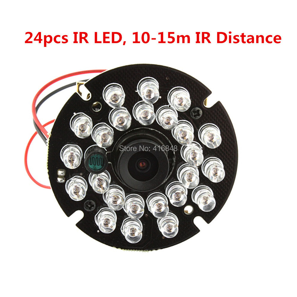US $57 45 10% OFF 2 1mm lens wide angle 24pcs IR LED 1080P HD android  ,linux,Windows free driver infrared ir usb web cam-in Surveillance Cameras  from