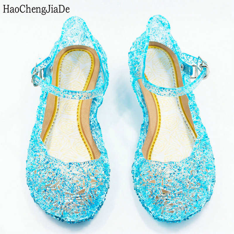 baby sko piger danse sandaler anna & elsa Kids baby sko elsa - Børnesko