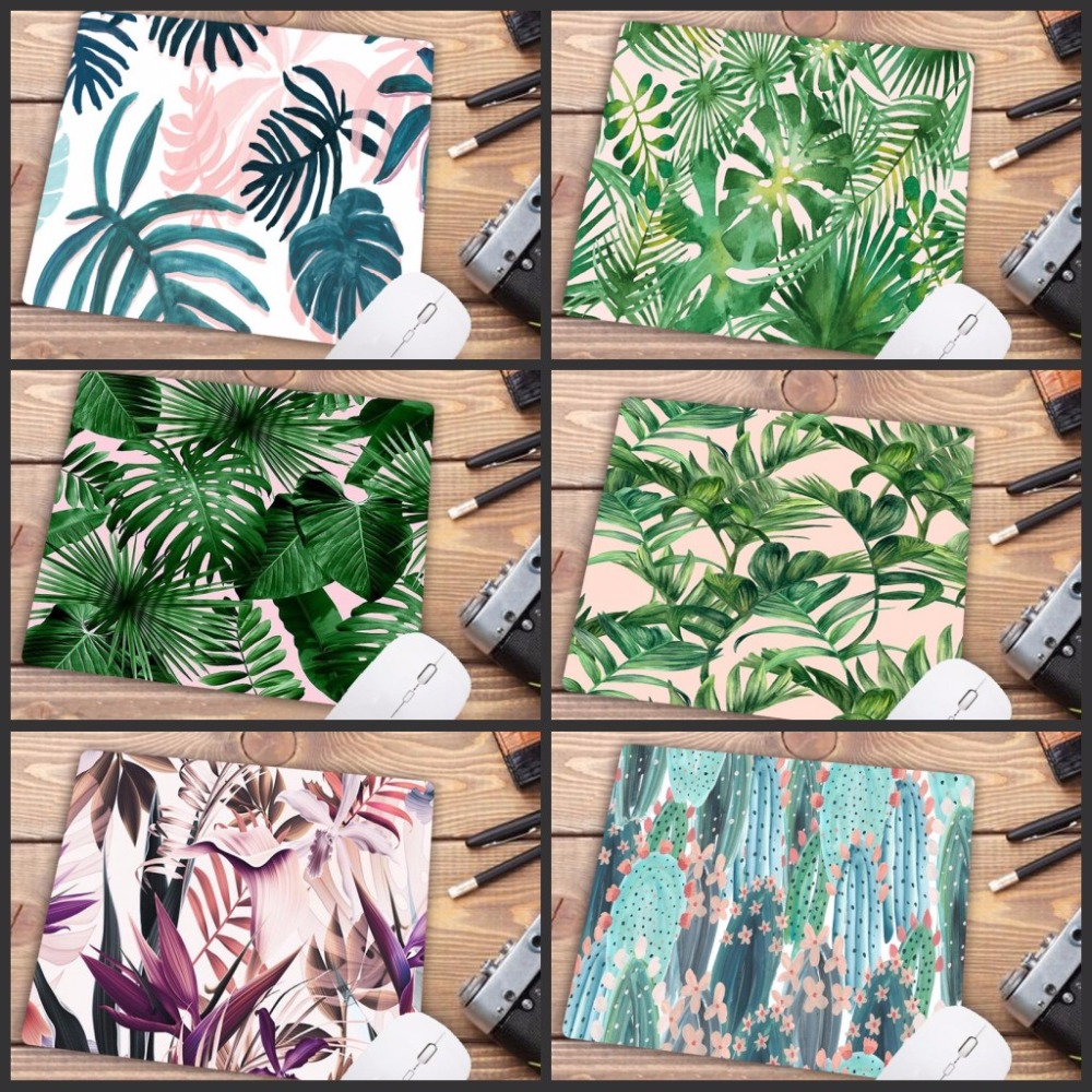 Mairuige Promotion Russia My Favorite Banana Tree Green Leaves Mouse Pad Anime PC Computer Mat Natural Rubber Gaming Mousepad