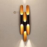 Современный светодиодный настенный светильник алюминиевый настенный светильник для спальни Домашнее освещение светильник для ванной све