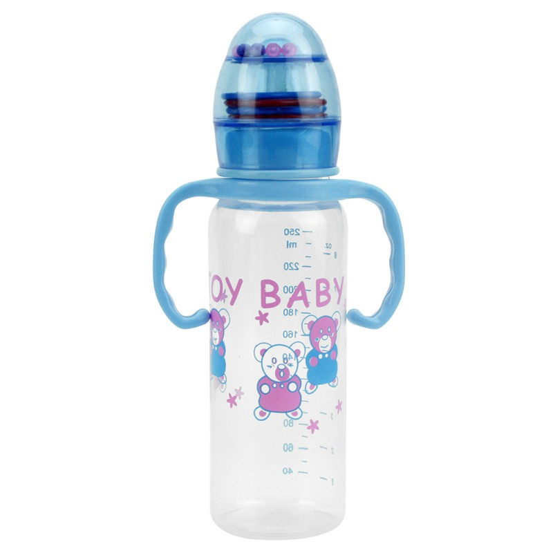 Durable Baby Kinder Strohschale Trinkflasche Sippy Tassen Mit Griffen Netter Design Babyflasche Pp Kunststoff üBereinstimmung In Farbe Mutter & Kinder