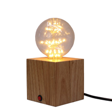 Creative nordics  decorates a study sitting room bedroom warm head of bed lamp real wood small desk