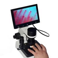 """Elektroniczny wykrywacz mikrokrążenia obwodowe naczynia krwionośne obserwator mikroskop cyfrowy z 7 """"/8"""" wyświetlacz lcd w Mikroskopy od Narzędzia na"""