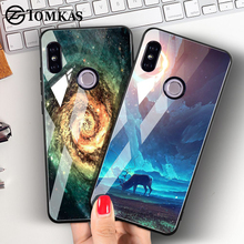 TOMKAS Tempered Glass Case For Xiaomi Re