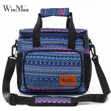 2019 Food Fresh Keep Lunch Cooler Bag Large Capacity Picnic Travel Storage Icepack Thermal Insulated Fashion Lunch Bags Bolsas