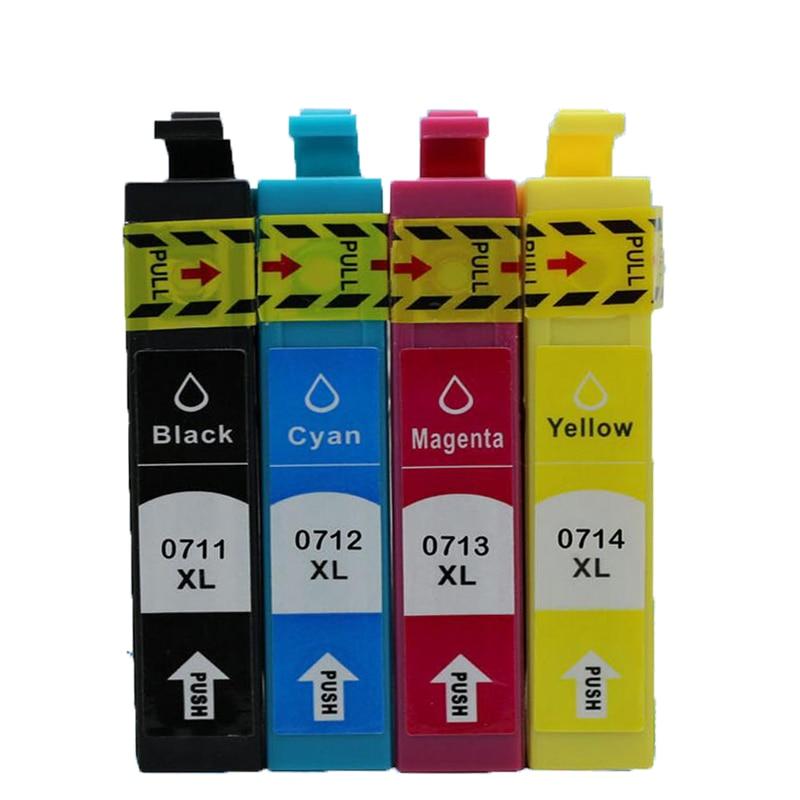 T0711 T0712 T0713 T0714 Kompatibel tintenpatrone Für Epson SX515W BX300F D120 D78...