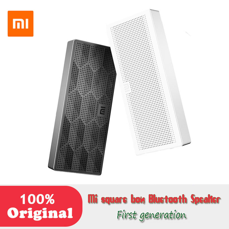Xiaomi Square Box mini Wireless Bluetooth 4 0 portable Speaker Hands free Calls Music Player with