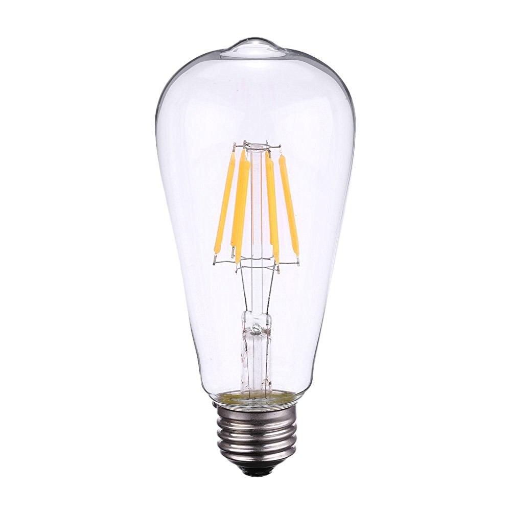 Vintage edison bulb old fashioned lamp classic a60 led 2w or 4w - Elimled St64 2w 4w 6w 8w 2700k Led Filament Light Bulb E27 220v Edison Style Retro Classical Bulb Replace Incandescent Bulb