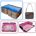 New hot design multi-function mummy bags baby travel cot foldable travel couch portable bassinet diaper bags