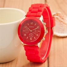 Silicone Watches Unisex Casual Women Men