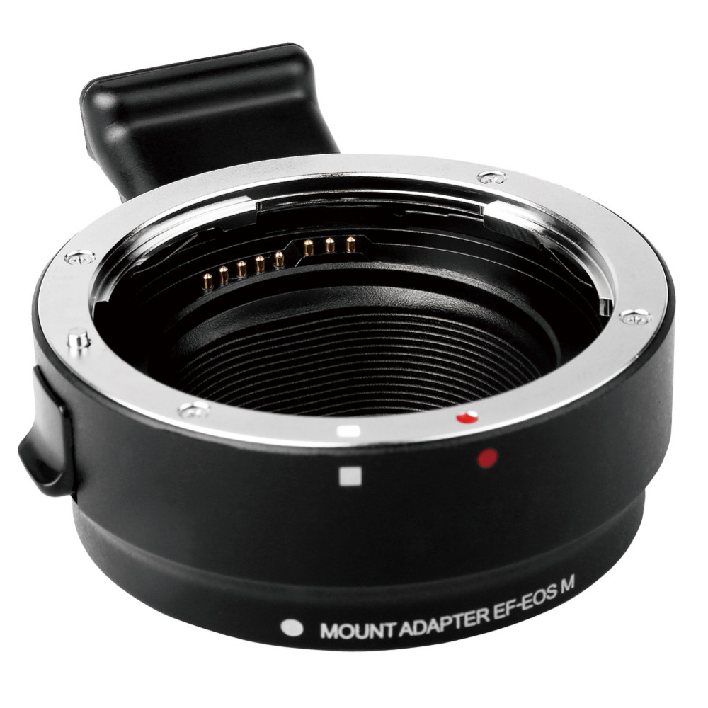 EF-EOS M Metal Electronic Auto Focus Lens Adapter For for EF EF-S Lens to EF-M for EOS M Camera Adapter eos 70d ef s