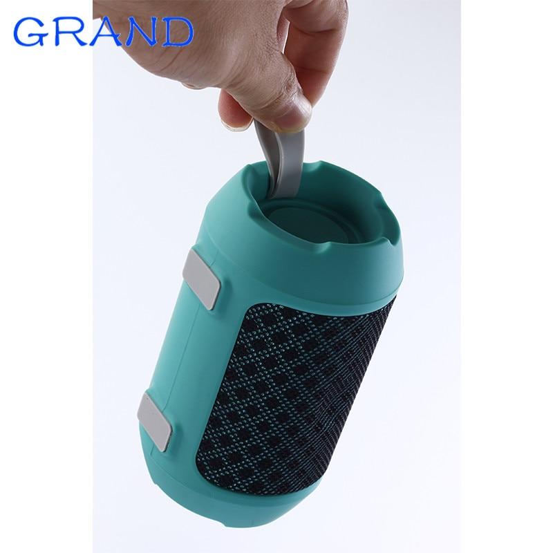 NEW BS-116 Bluetooth 4.2 Portable Outdoor Mini Hands Free Bicycle Column Speaker loudspeaker music player Happybate