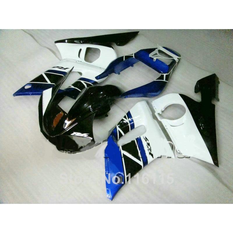100% new fairing kit for YAMAHA R6 1998-2002 blue black white YZF R6 plastic fairings set 98 99 00 01 02 NX40
